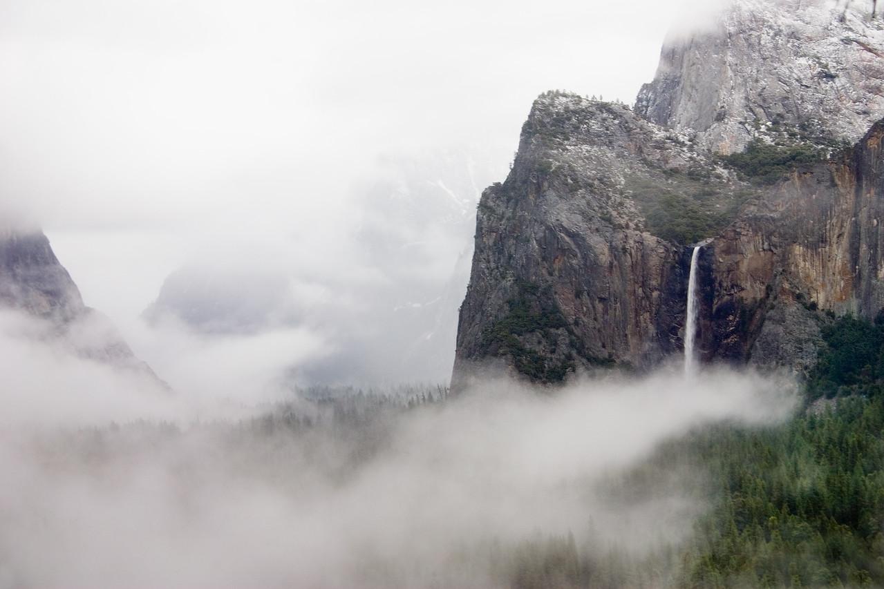 Bridalveil Falls After The Storm