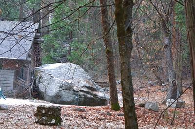 Danger of Falling Rocks - Curry Village 12-30-13