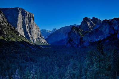 Early morning Tunnel View 12-29-13