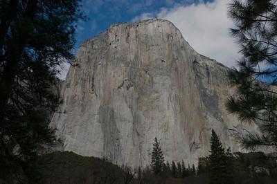 View of El Cap 12-31-13