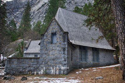 Side view of LeConte 12-31-13