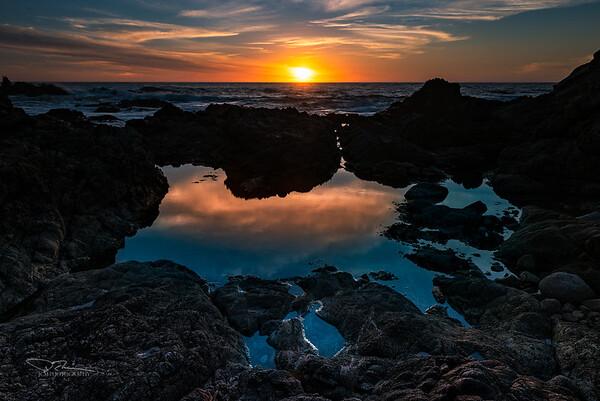 Sunset. Garrapata State Park, CA