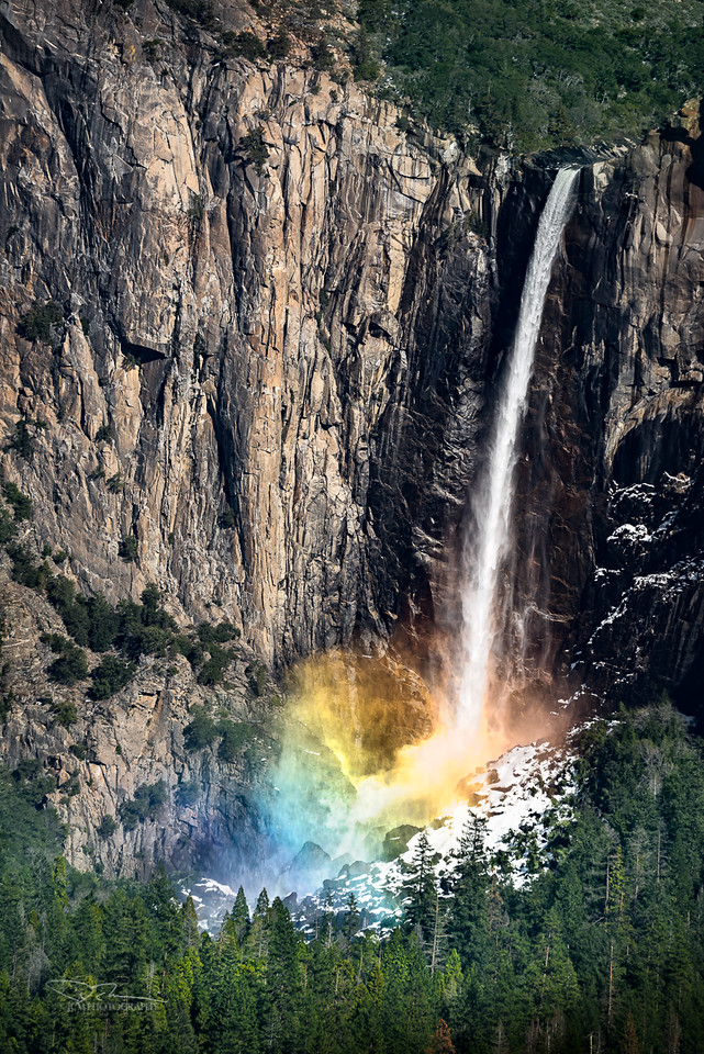 Bridalveil Falls. Yosemite, CA
