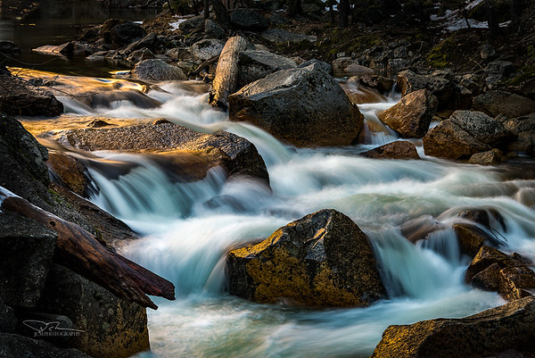 Tenaya Creek. Yosemite, CA