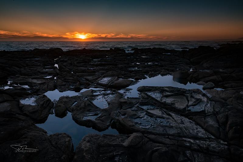 Sunset. Cambria, CA