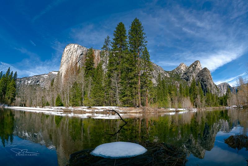 El Capitan/Three Brothers. Yosemite, CA