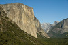 El Capitan, Half Dome and Yosemite Valley from Tunnel View