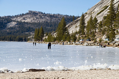 Tenaya Lake Yosemite National Park, California January 5, 2012 J5(12)