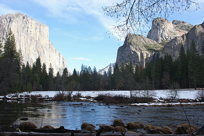 Gates of the Valley Yosemite National Park, California January 16, 2010 J16(9)
