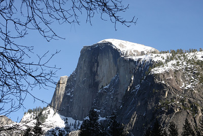 I like when Half Dome is covered in snow/ice. Yosemite National Park January 15, 2011 J15(6)