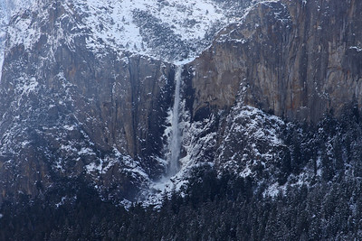 Bridal Veil Fall Yosemite National Park February 21, 2011 F21(13)