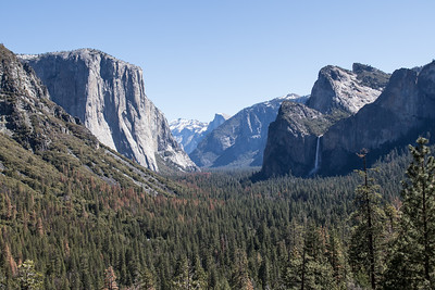 Tunnel View April 5, 2016