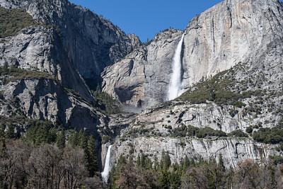 Upper and Lower Yosemite Falls April 5, 2016