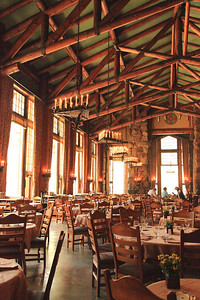 Awahnee Hotel Dining Room .