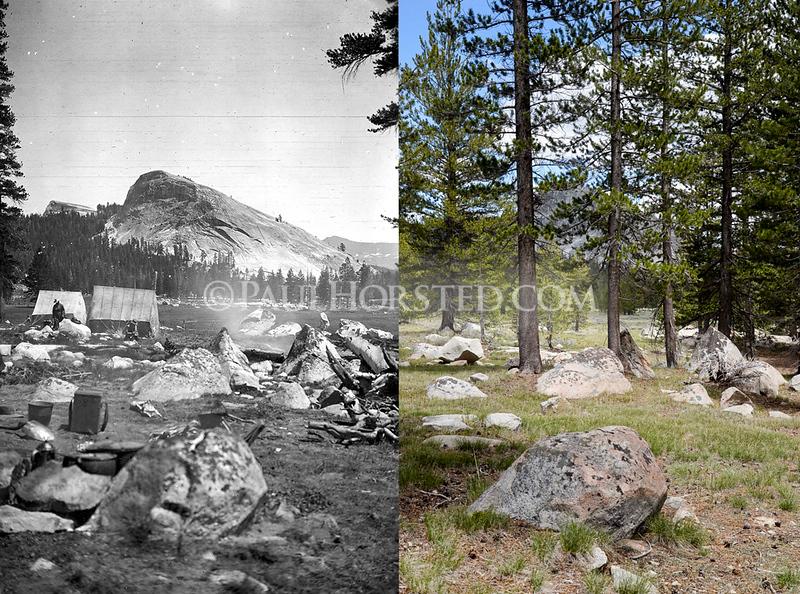 Yosemite National Park, Tuolumne Meadows and Lembert Dome.