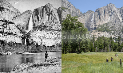 Yosemite National Park, Yosemite Falls.