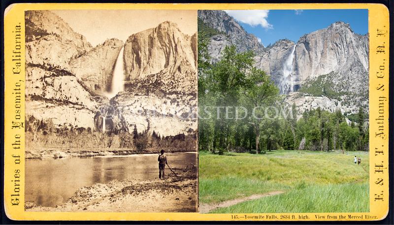 Yosemite National Park, Yosemite Falls.