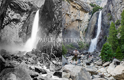Yosemite National Park, Lower Yosemite Falls.