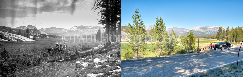 Yosemite National Park, Tuolumne Meadows.