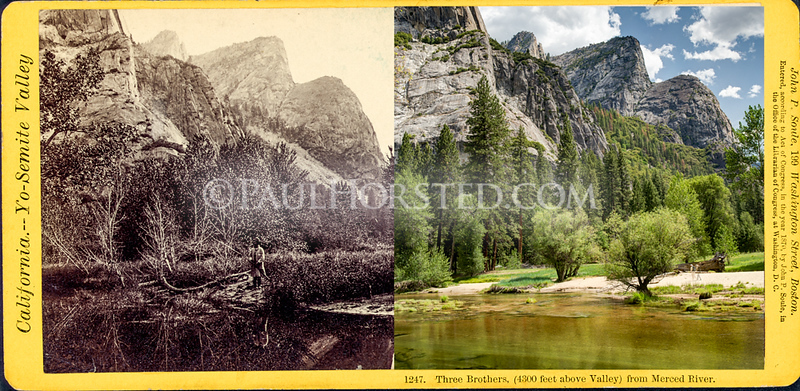Yosemite National Park, Three Brothers.