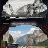 Yosemite National Park, Wawona Tunnel (view of Yosemite Valley.)