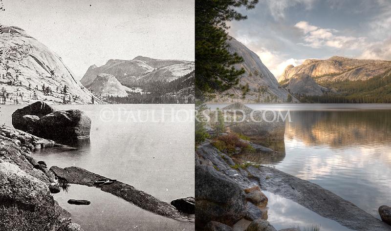 Yosemite National Park, Tenaya Lake.