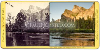 Bridal Veil Fall and Merced River.