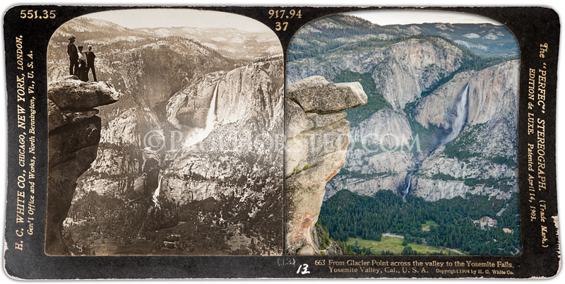 Yosemite National Park, Glacier Point, Overhanging Rock.
