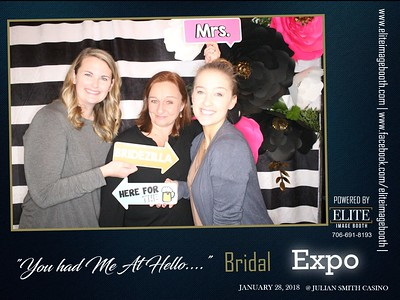 "2018.1.28 ""You Had Me At Hello"" Bridal Expo 2018"