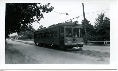 Glen Park 45th Avenue Trolley Gary Indiana
