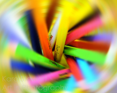 Colored Swirl Pencil