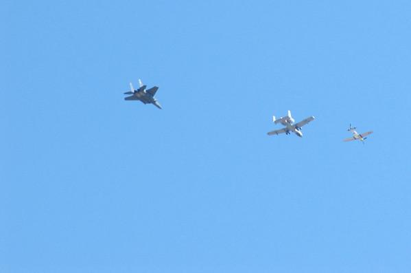 2009-09-26 Aircraft Flyover
