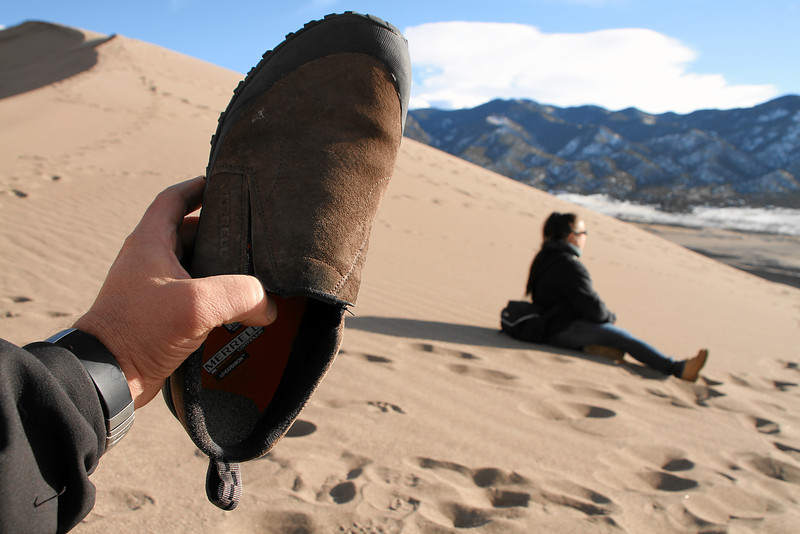 IMG_3984 Emptying sand out of my shoe