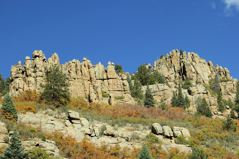 Rock formation in Phantom Canyon