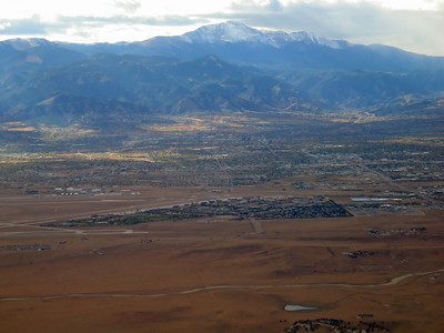 Aerial Views of Pikes Peak