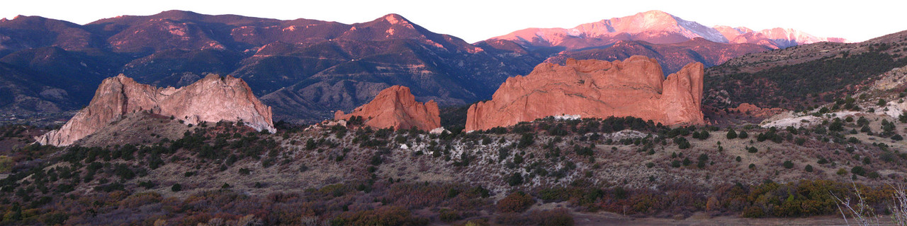 Garden of the Gods Panoramas