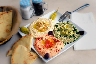 Hummus Trio Plate