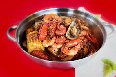 Cajun Seafood Pot