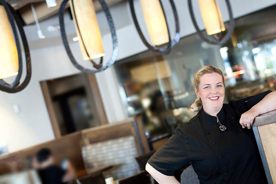 Tia Baker, Chef at Sol Cocina