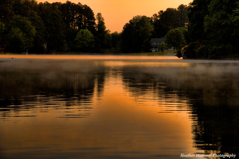 Lake Monticello Sunrise May  15 2015