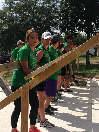 Young Adult Habitat Build 7/16/16