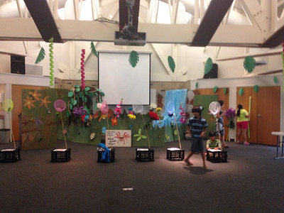 Young Adult VBS Jungle Build