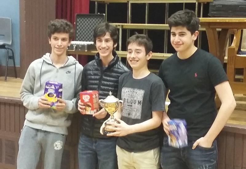 Schools Cup winners - Westminster School