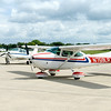 Don Knight | The Herald Bulletin<br /> Bob Snider takes three siblings up for a flight during the Experimental Aircraft Association Chapter 226's Young Eagles program at the Anderson Airport on Saturday.