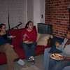 Molly, Anice and Deva share in the epicurean feast and good feminist conversation.