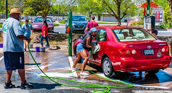 Young Life Sonic Car Wash Tucker GA Apr 2018