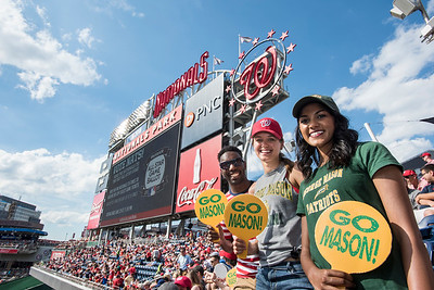 Mason Alumni at Nationals Park