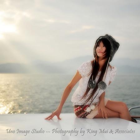Memi, Model from Macau