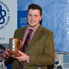 Cornwall YFC member Will Jelbert with the Prince of Wales cup.