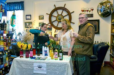 Wine tasting from Marjim Manor, March 31, 2012